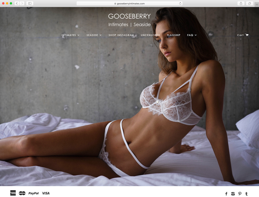 Campaign for Gooseberry Intimates